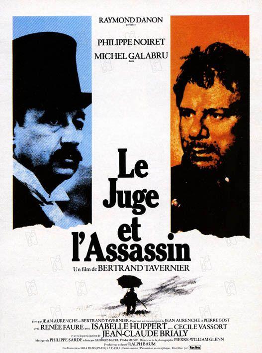 """""""Le Juge et l'assassin"""" film de Bertrand Tavernier avec Michel Galabru et Philippe Noiret - 1976"""