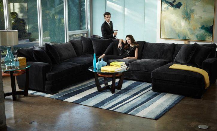 sofas at macys alister sofa table desk i love this gorgeously elegant black velvet dream home couches sectional macy s