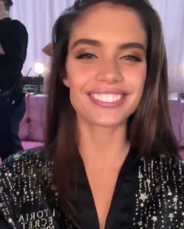 "32479f5e184 Models  Stories on Instagram  "" November 8   Sara Sampaio ( sarasampaio) in  New York City at backstage for the Victoria s Secret Fashion Show 2018!"