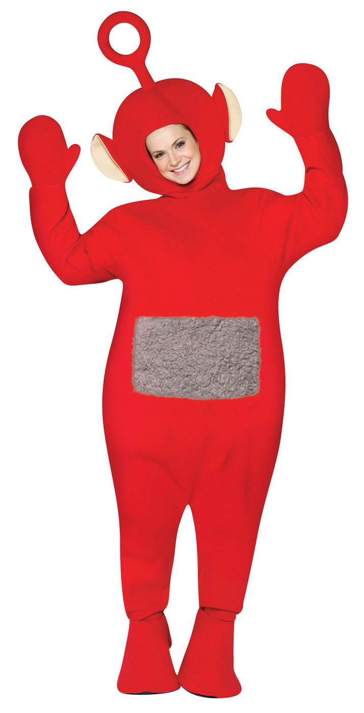 Teletubbies Po Red Costume Item 4217 Rasta Imposta