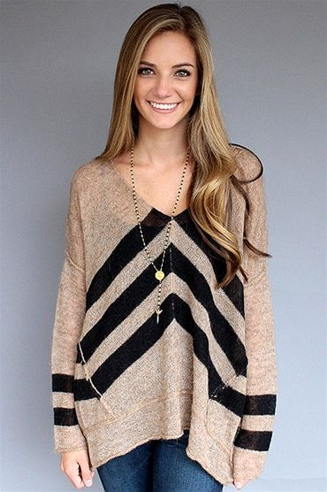 Free People - Taupe   Black Twelve Roses Pullover