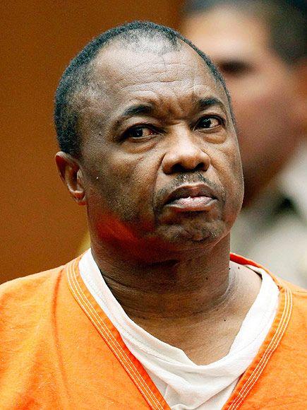 Los Angeles Jury Finds 'Grim Sleeper' Serial Killer Guilty of Murdering 10 Women in 23-Year Killing Spree http://www.people.com/article/grim-sleeper-lonnie-franklin-found-verdict-jury