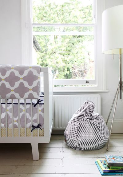 gender-neutral bedding collection from Olli Ella