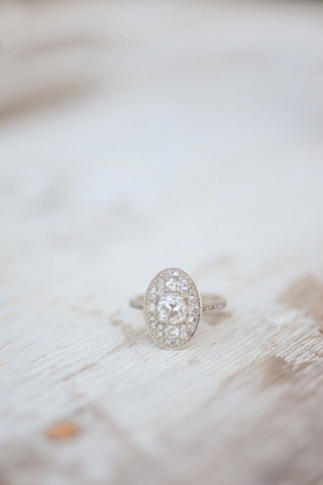 Vintage Style wedding ring