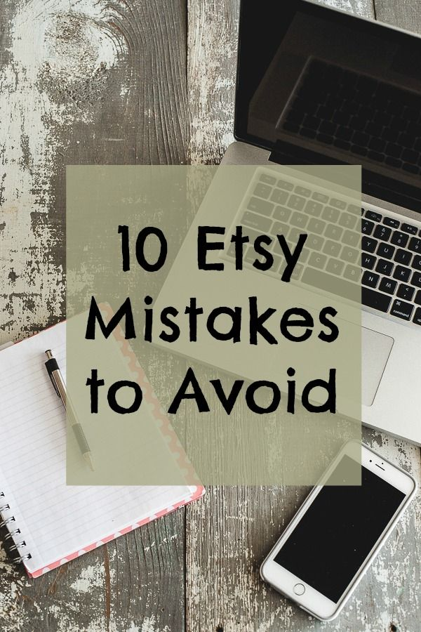 10 Etsy Mistakes to Avoid - Carmen Whitehead Designs Stop by my Shop www.etsy.com/shop/teolddesign Stop by my Etsy Shop: www.etsy.com/shop/TeoldDesign