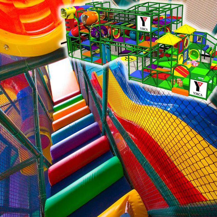 New installation of a commercial indoor playground for The