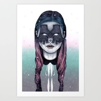 Void Art Print by Sofia Azevedo - $18.00
