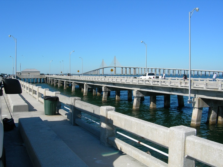 16 best tampa area images on pinterest 4 hours bike for Tampa fishing piers