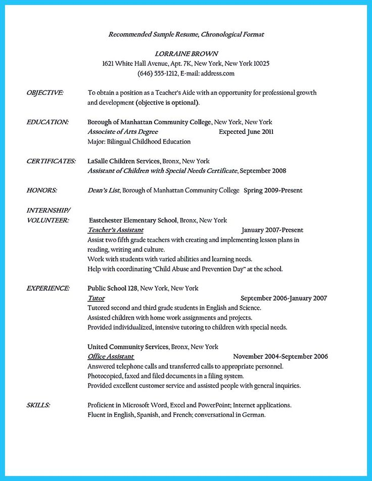 Best 25 Teaching Assistant Cover Letter Ideas On