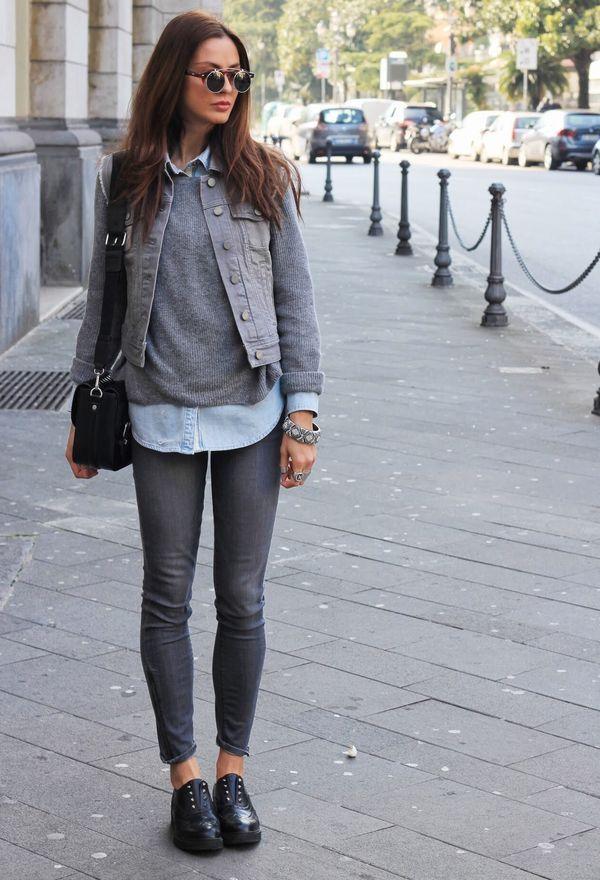 Серый свитер (34 фото): с чем носить, как украсить, светло-серый, темно-серый, с джинсами