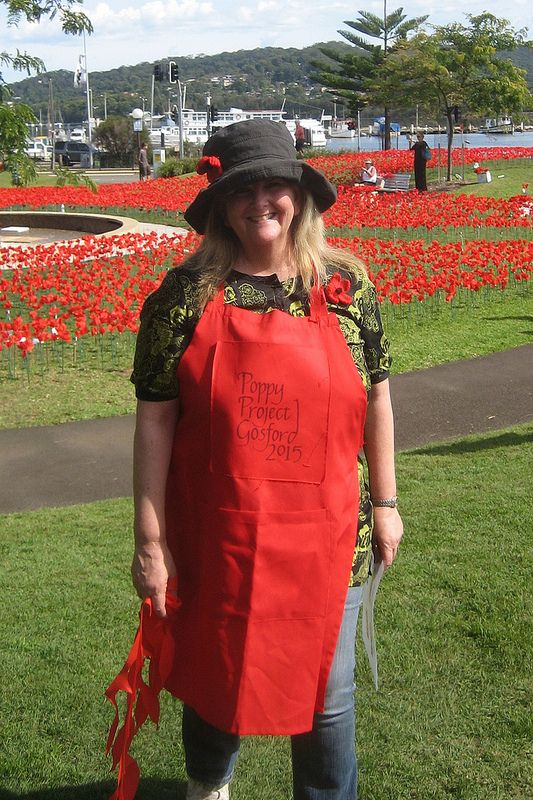 Merril Jackson, the lady who started the Poppy project Gosford April 2015 | Flickr - Photo Sharing!