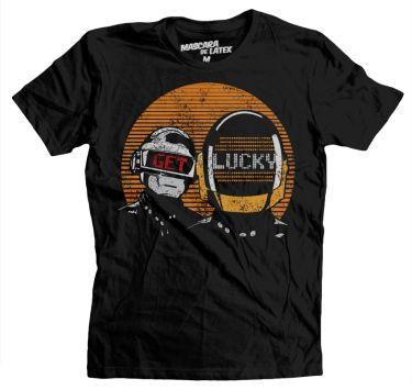 Get Lucky | MascaraDeLatex.ES #Camisetas #MdL #DaftPunk