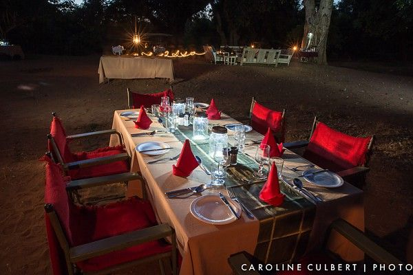 Dinner is always a special treat on the Pafuri Walking Trail #KrugerNationalPark