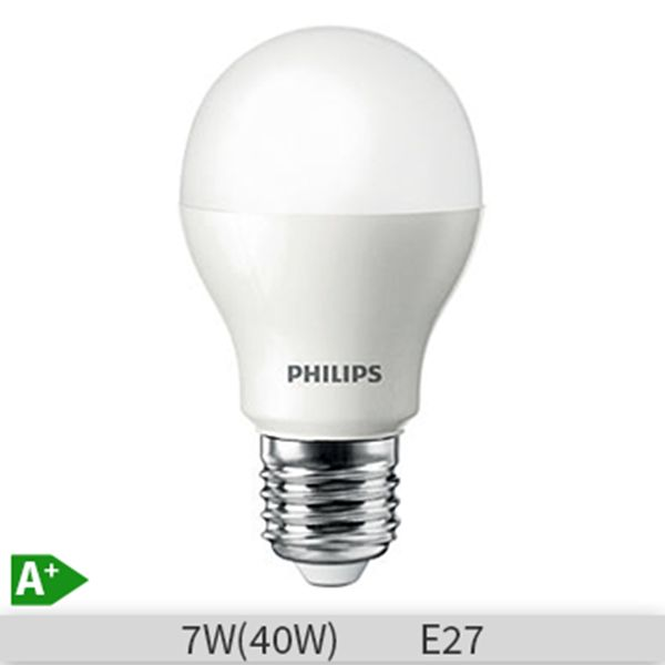 Bec LEd Philips LEDBulb A60 7W, E27, 25000 ore, lumina calda http://www.etbm.ro/becuri-led
