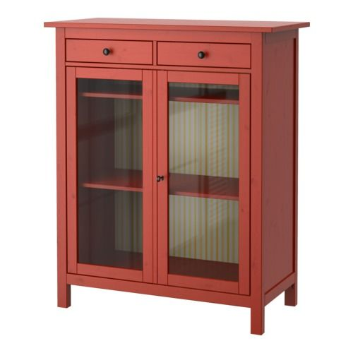 IKEA - HEMNES, Linen cabinet, , Made of solid wood, which is a durable and warm natural material.Both shelves are adjustable to four different positions.Smooth running drawers with pull-out stop.If you want to organize inside, you can complement with interior accessories from the SVIRA series.