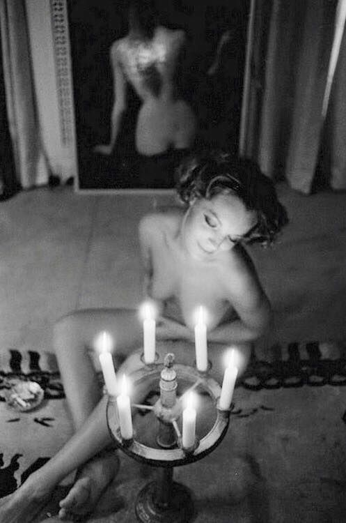 Romy Schneider Photo by Giancarlo Botti 1974