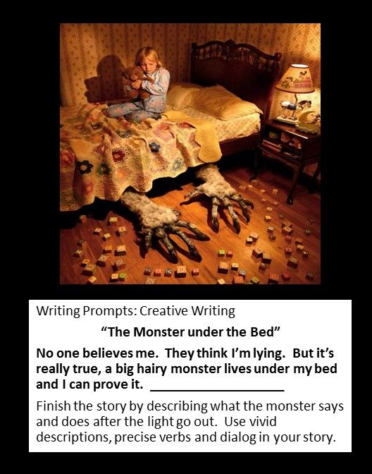 scary story creative writing prompts Creepy writing prompts in both text and images to help you prepare for your next horror story updated weekly with new prompts and writing contests.