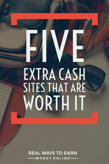 Five extra cash sites that are totally worth the time. All legitimate and easy to use. via @RealWaystoEarn