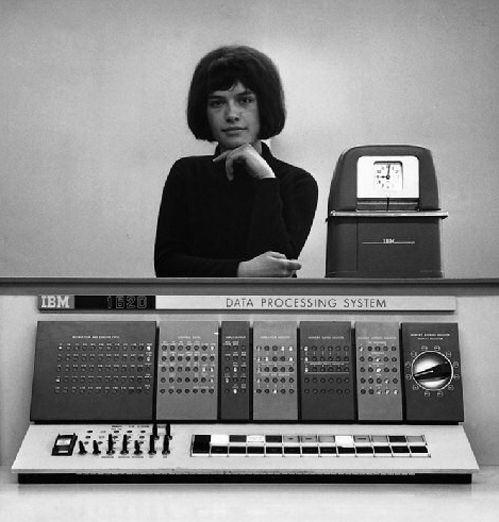 Ye Gods!  Data Processing System!  IBM 1620 via RIB total storage....12.5 KB