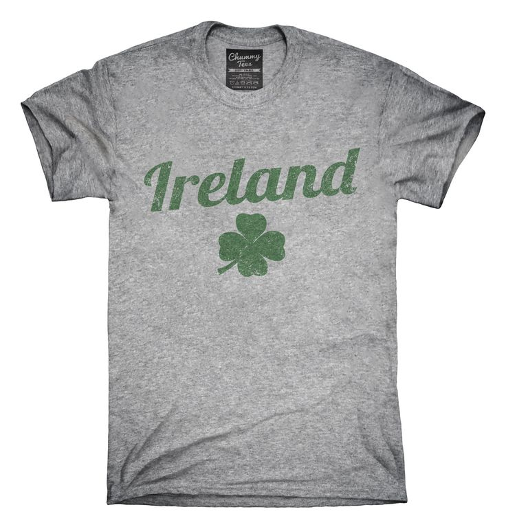 Vintage Ireland Shamrock T-Shirts, Hoodies, Tank Tops