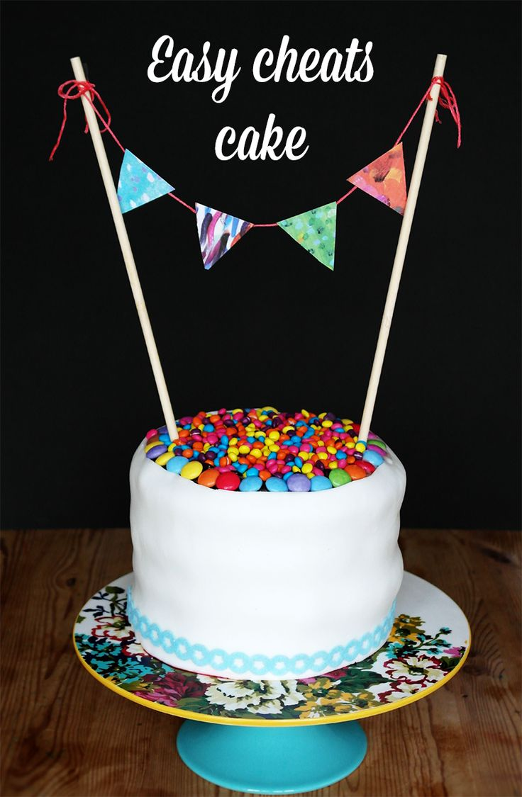Cheats Easy Party Cake Cake Decorating For Kids Party