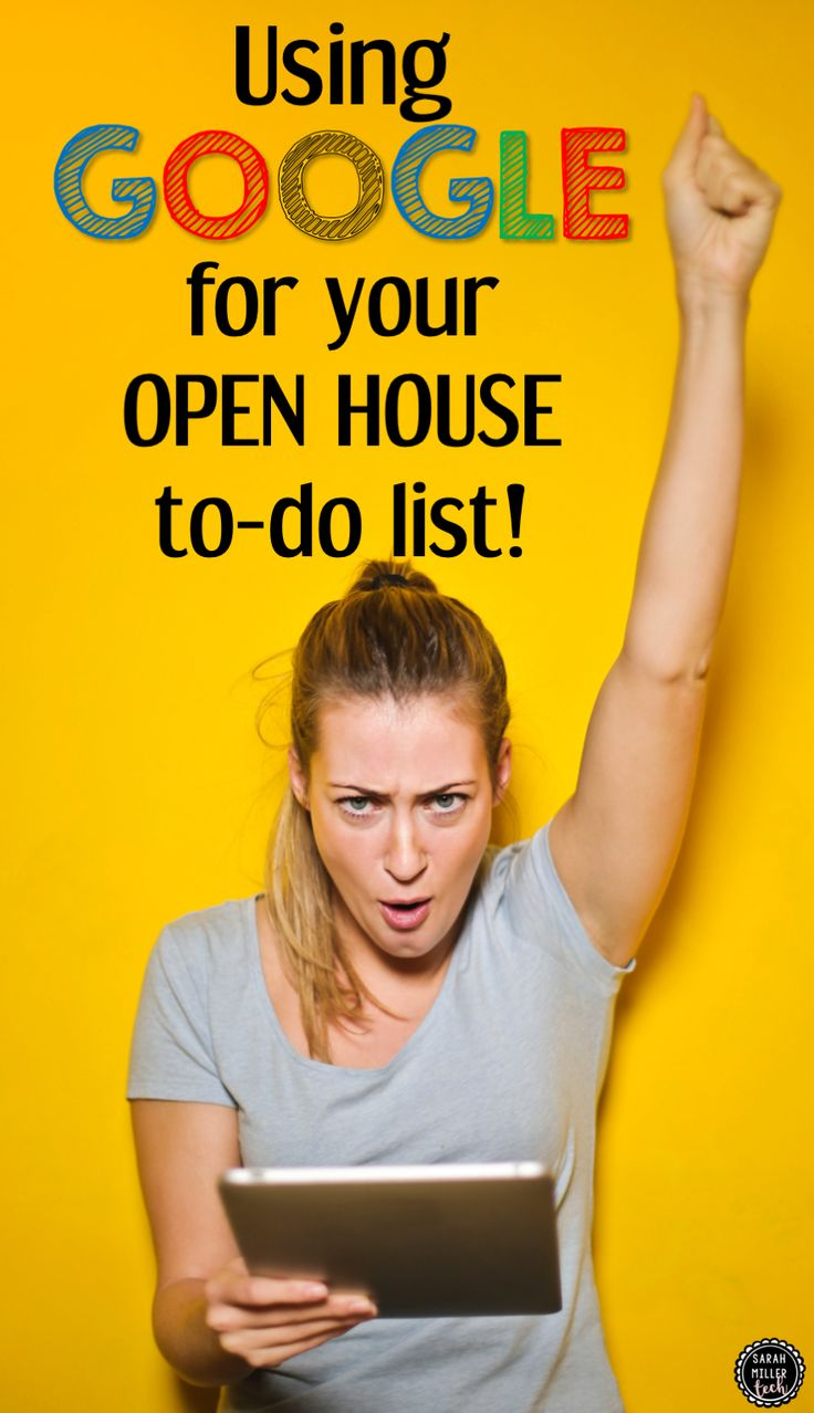 Use Google to save your sanity during Open House! These are six simple ways Google can help you knock out those to-do list items in the hectic time su…