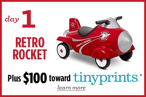 Radio Flyer - 25 Days of Giveaway - Prize