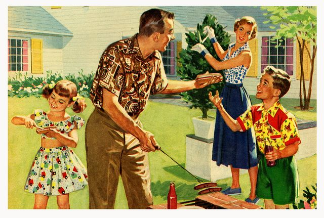 There's More Pleasure In Leasure With Tex-Made by paul.malon, via Flickr     1955