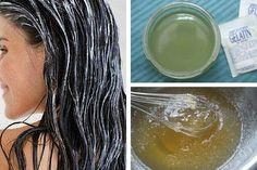 La gelatina contiene nutrientes que se pueden aprovechar para hacer tratamientos estéticos. Hoy te compartimos 4 de ellos para que los hagas en casa.