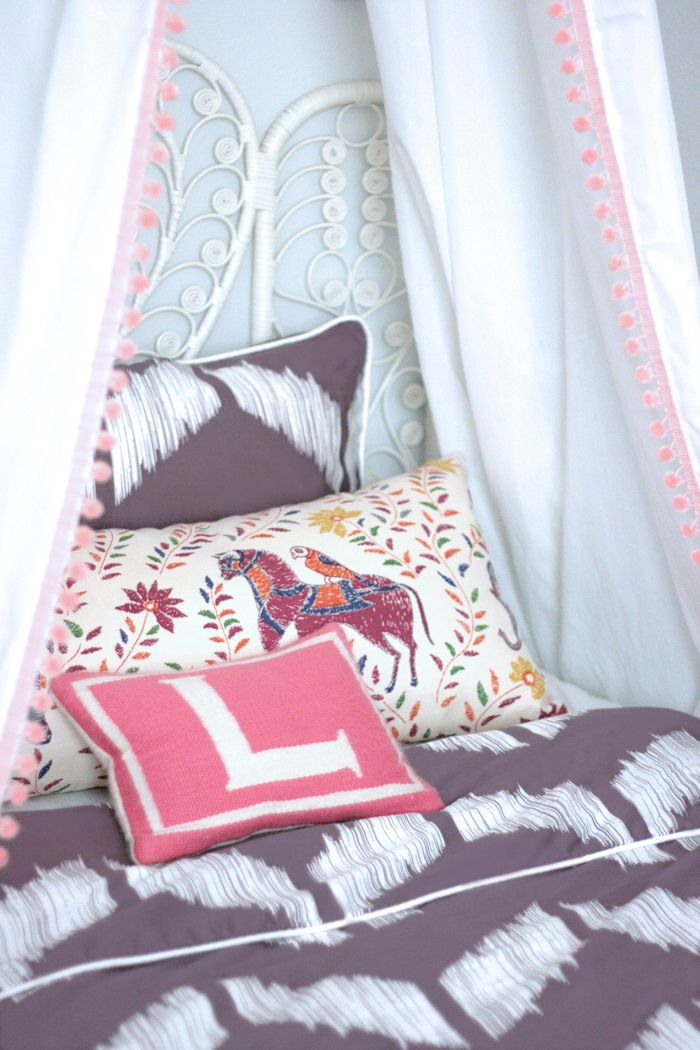 A Closer Look At Brand Stylist, Erika Brechtelu0027s Gorgeous Interior Design,  Featuring Chevron Plum