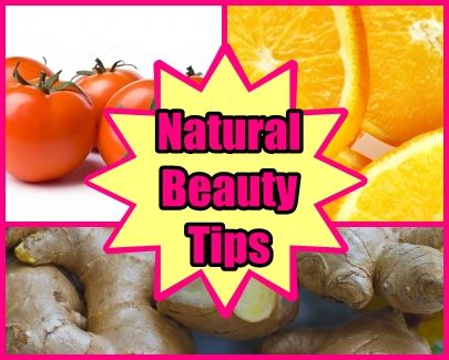 3 DIY: Natural Beauty Tips...I have never heard of any of these, says they will give you fresh, glowing skin. So easy to do, definitely worth trying!