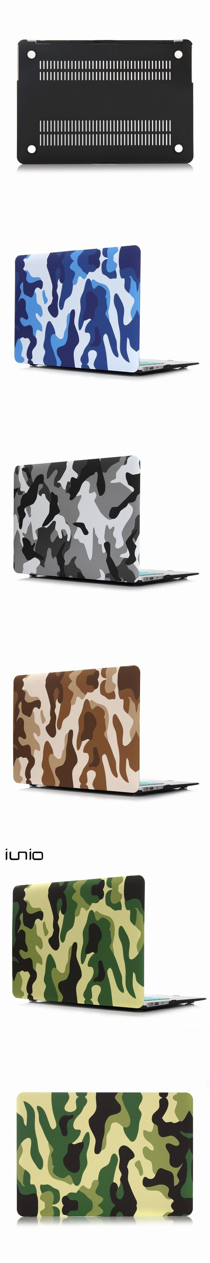 Military Camouflage Cover For Macbook Air 11 Case Hard Protective Case For Macbook Air 11.6 12 inch Laptop Bag Case For Mac Book