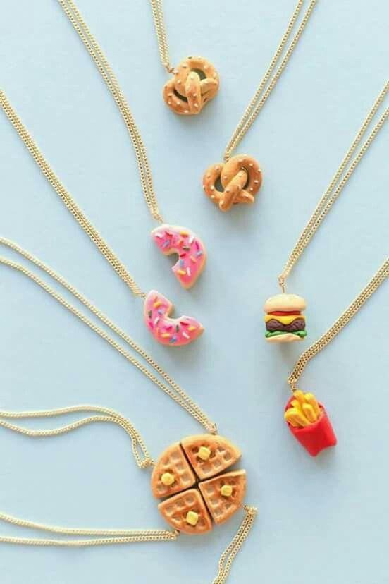 Donut friendship necklace!!!!