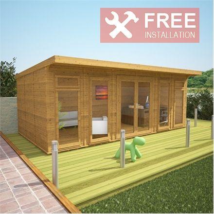 3m X 6m Waltons Insulated Garden Room