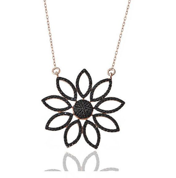 925 Sterling Silver 2014 Collection  Black Diamond by JeweeDiamond, $44.99