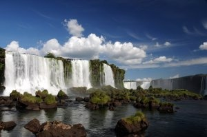 Waterfalls in Argentina, ever since I was a kid I've wanted to see the waterfalls in Argentina. Beautiful