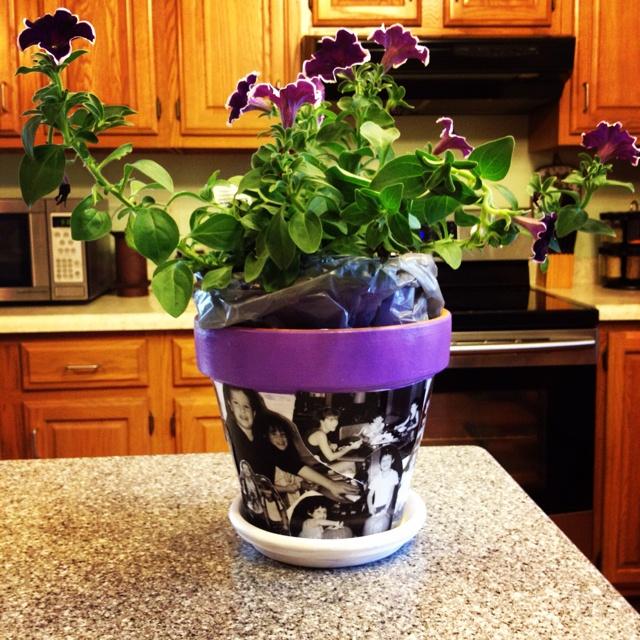 Ideas about flower pot centerpiece on pinterest