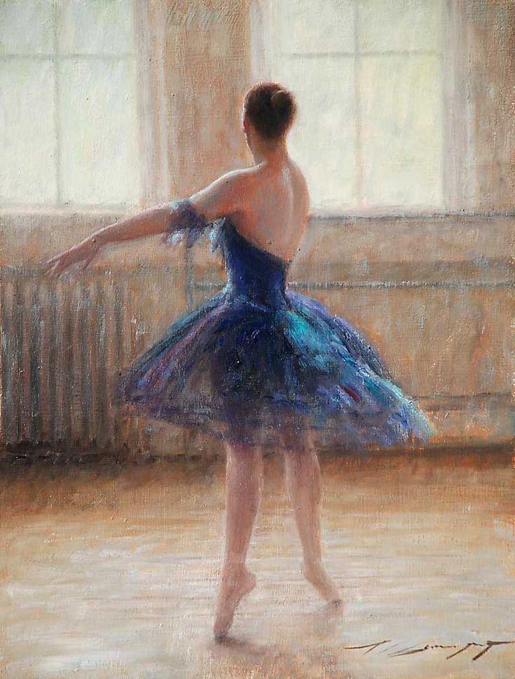 """""""Pirouette"""" by Trent Gudmundsen. Oil"""