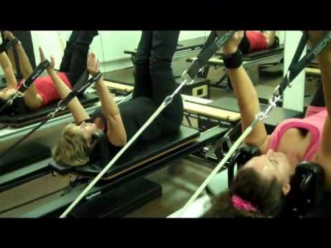 A Pilates Reformer Class - On The STOTT PILATES Reformer - YouTube
