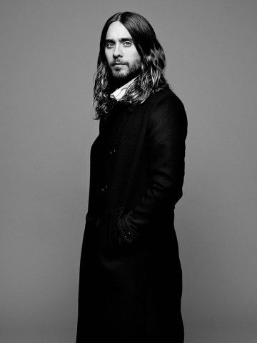 Look at Jared Leto. I have a problem with the man having better hair than me but I could make an exception for him.