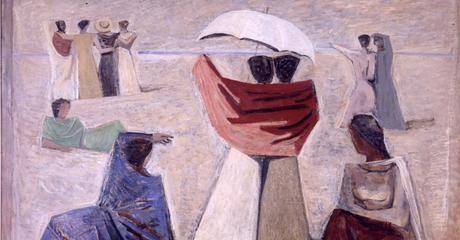 Massimo Campigli, Le Spose dei Marinai, 1934 Galleria d'Arte Moderna Rome, Italy