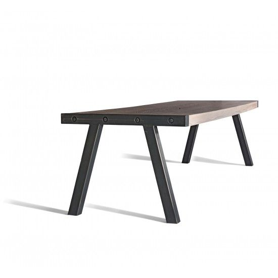 Another kitchen table option from Industry West Foundry Dining Table - Small