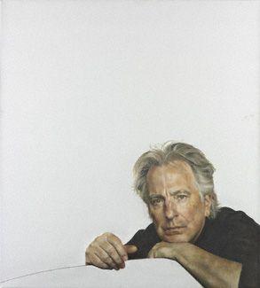 Alan Rickman by Raoul Martinez, BP Portrait Award 2010