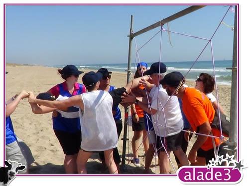 Team Building diseñado por Alade3 y llevado a cabo en Valencia  www.alade3.es