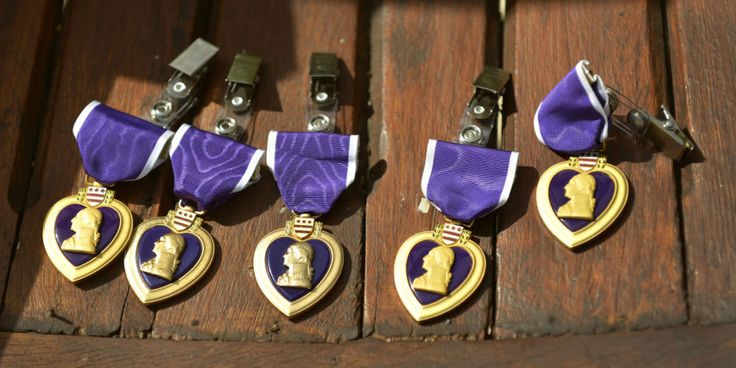 "1/3/18 Vietnam vet's claim of 9 Purple Hearts launches yearlong investigation into his military record  Kendrick said the incorrect nomenclature raises red flags because the document should read ""Purple Heart with one Silver Oak Leaf Cluster and three Bronze Oak Leaf Clusters."""