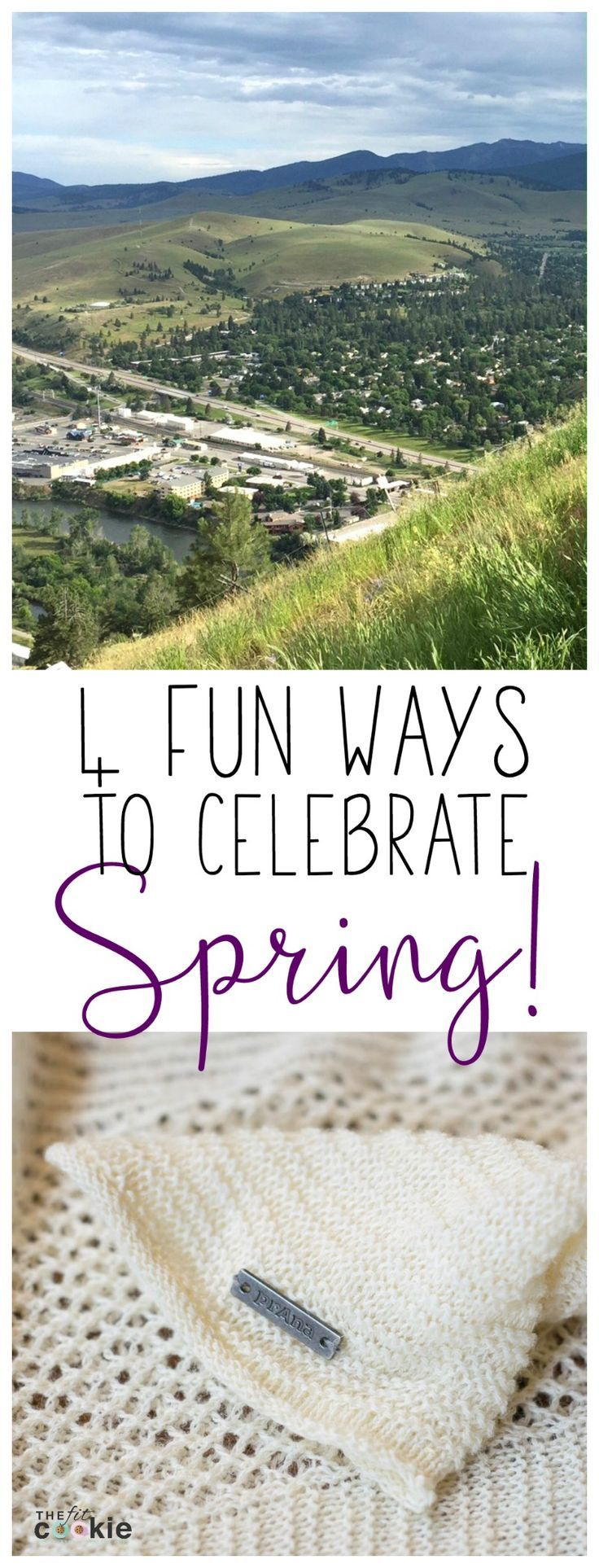 The first day of Spring is right around the corner! Here are 4 fun ways to celebrate Spring (you'll love #4!) - @TheFitCookie #ad @prAna  @fitapproach  #sweatpink #Spring4prAna #prAnastyle #IAmEmpowered