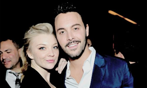 Natalie Dormer with Jack Huston at the Photographs by Kelly Klein Hosted by Barry Diller and Jason Weinberg at BOA Steakhouse on the 8th of January, 2016.