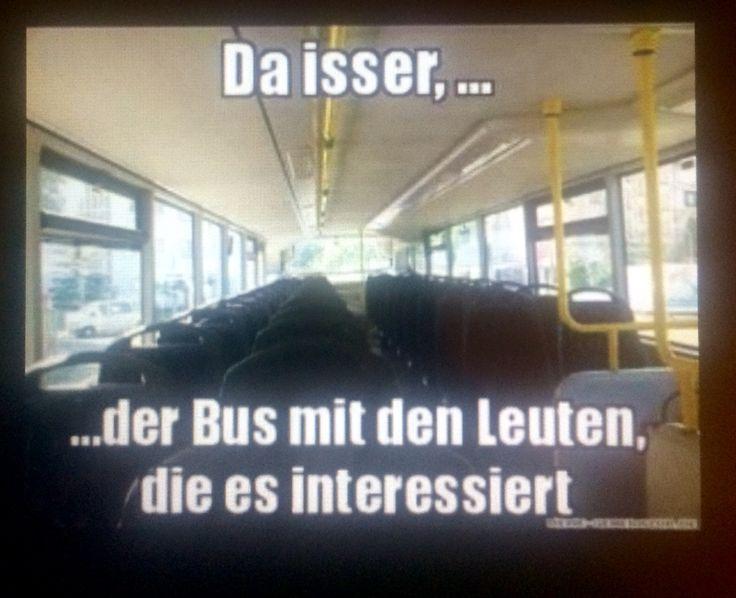 Der Bus Den Es Interessiert