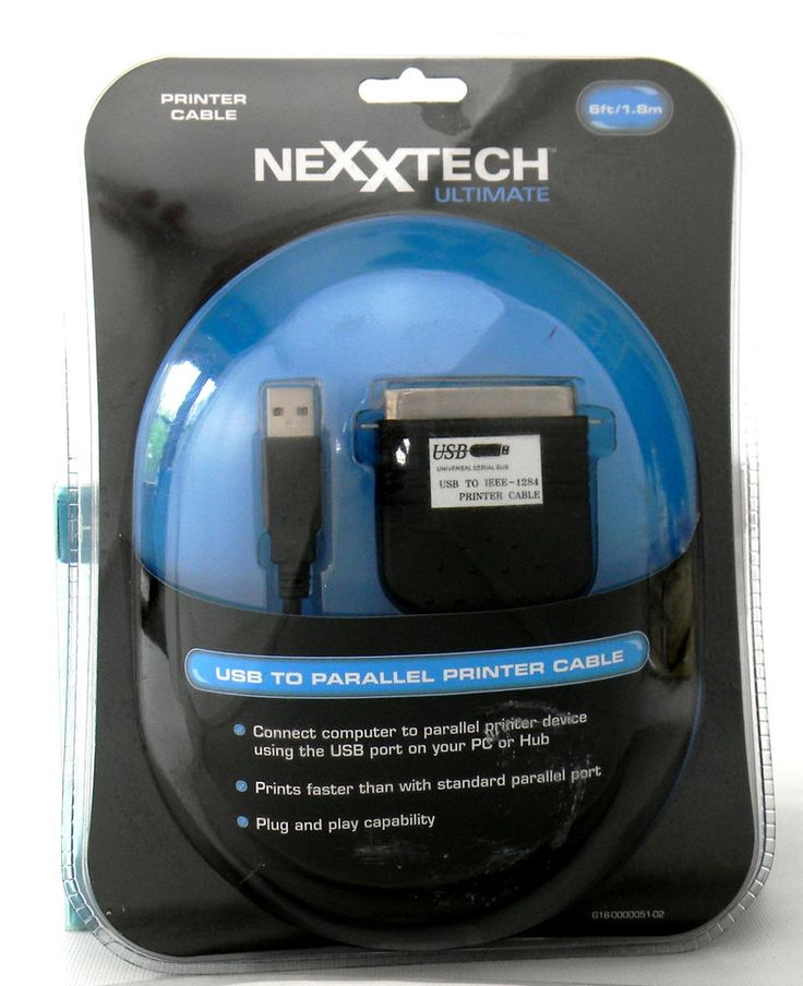 122 best electronics images on pinterest consumer electronics nexxtech ultimate usb to parallel printer cable 6 ft nexxtech gumiabroncs Choice Image