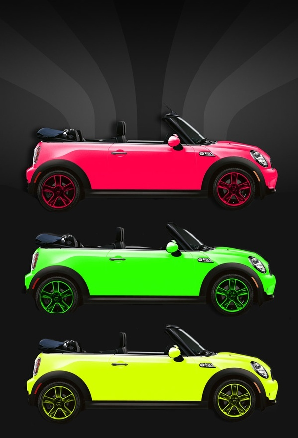 Mini-Neon... but I want it black with the neon paint splattered!!! - #neon - ☮k☮